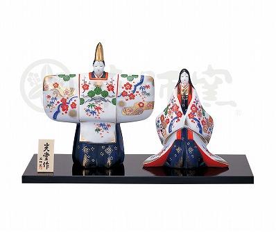 染錦立雛(金襴松竹梅) 2327