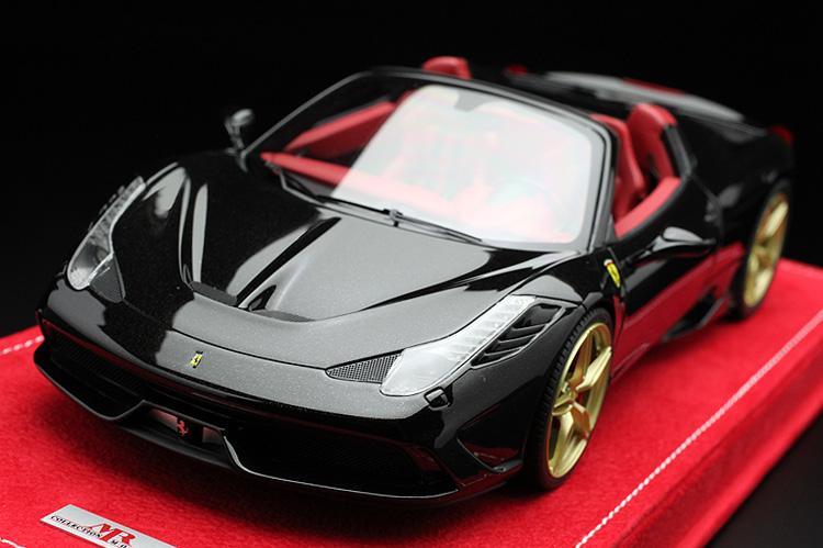 1/18 フェラーリ 458 スペチアーレ A MRコレクション 超稀少シリアル(01/49)