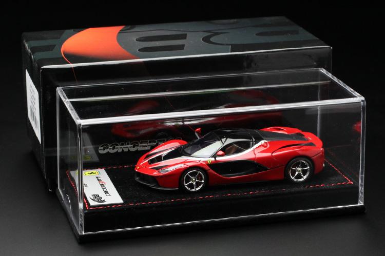 【平日即日発送可能】BBR 1/43 ラフェラーリ laferrari Rosso Corsa/Gloss Black roof BBRC137RCR モデルカー ミニカー 2001500101127 送料無料