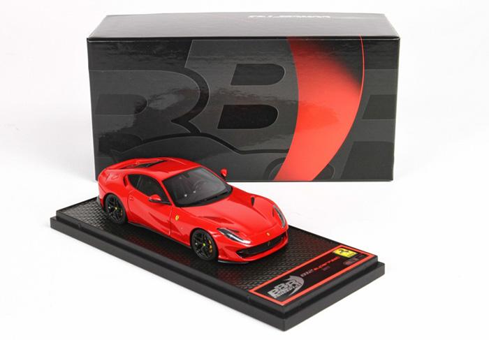 【平日即日発送可能】フェラーリ BBR 1/43 812 Superfast rosso Corsa 322 BBRC198RCC1 ferrari モデルカー ミニカー 送料無料