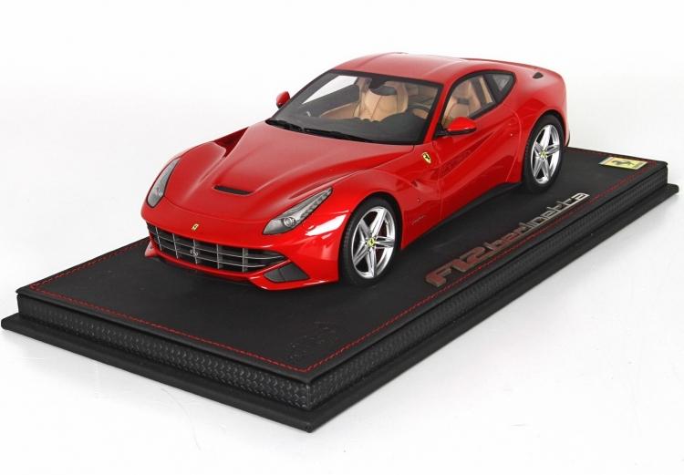 【平日即日発送可能】BBR 1/18 フェラーリ F12 Berlinetta Rosso Corsa P1841RC16 ferrari 2001500101257 ミニカー モデルカー 送料無料