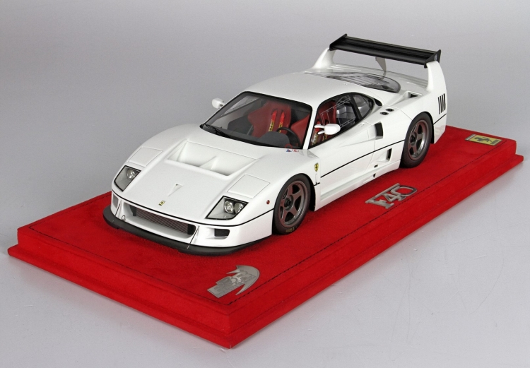 【平日即日発送可能】BBR 1/18 Ferrari フェラーリ F40 LM 1989 bianco P18131C 2001500101295 ミニカー モデルカー 送料無料