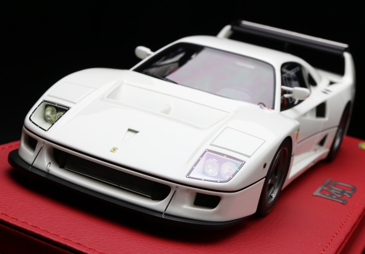 【平日即日発送可能】BBR 1/18 F40LM 1989 bianco P18131C2 フェラーリ ferrari モデルカー ミニカー 2001500101288 送料無料