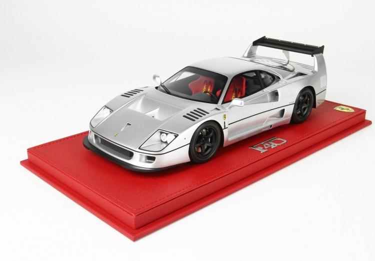 世界限定24台 平日即日発送可能 BBR 激安 オンラインショッピング 1 18 Ferrari フェラーリ F40 ミニカー 送料無料 Michelotto P18169B1 by 2001500102438 モデルカー