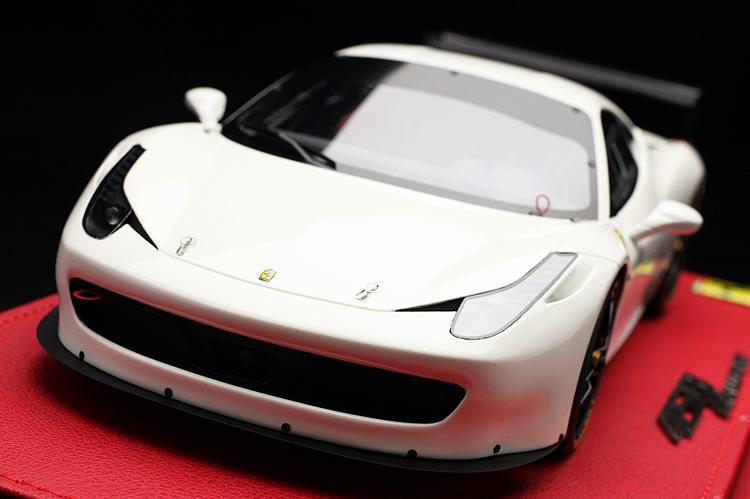 【平日即日発送可能】BBR 1/18 フェラーリ Ferrari 458 Challenge EVO P1890RUW モデルカー ミニカー 送料無料