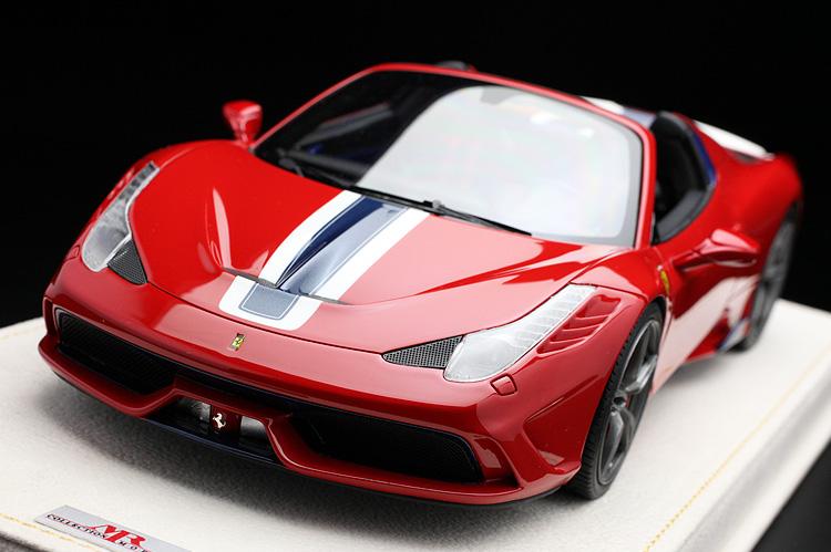 【平日即日発送可能】 MRcollection 1/18 フェラーリ 458 スペチアーレ A special ferrari モデルカー ミニカー 送料無料