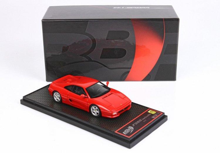世界限定75台 平日即日発送可能 BBR 1 43 フェラーリ F355 Berlinetta 安い 1994 Rosso 卓抜 ferrari BBRC09AMB Corsa モデルカー And 2001500102742 ミニカー 送料無料 Black Inside
