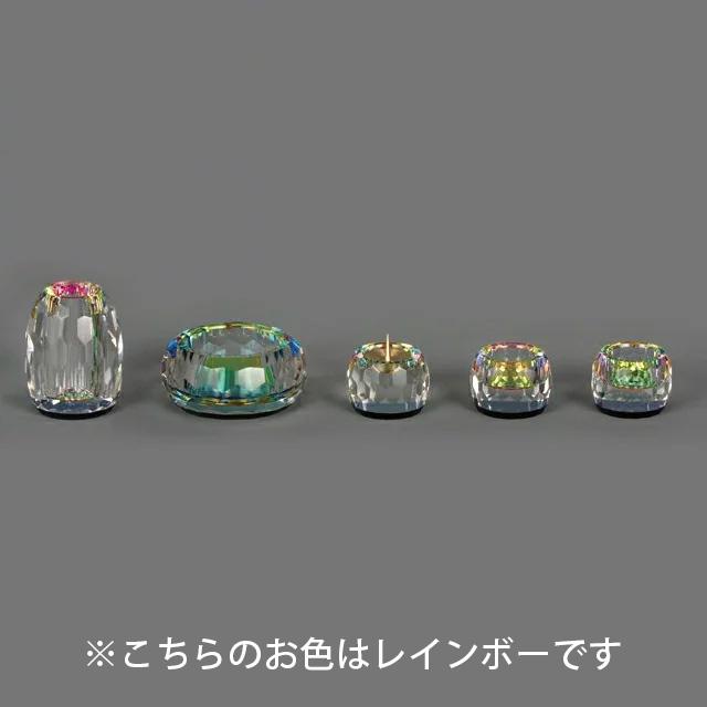 仏具セット クリスタル仏具【姫】クリヤー 5点セット 2.5寸