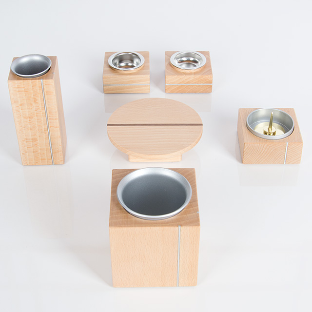 仏具セット 木製 京雅 ナチュラル 6点セット 3.5寸