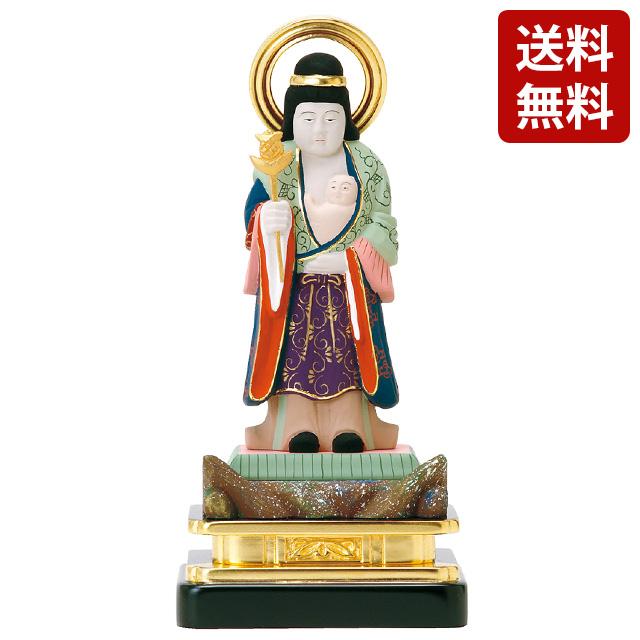 仏像 彩色 子安鬼子母神 3.0寸~5.0寸