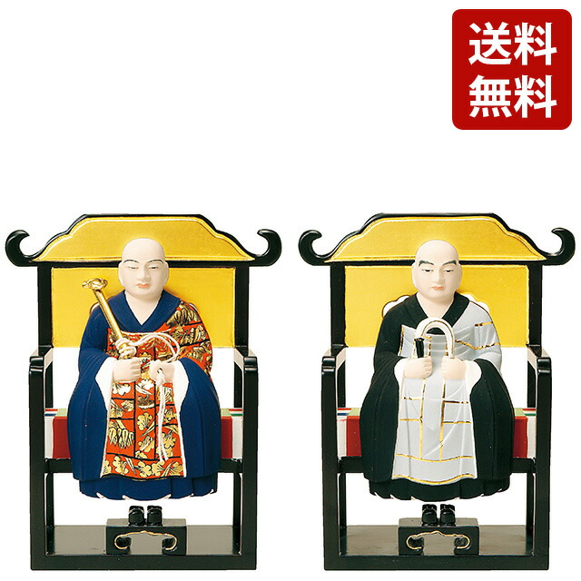 仏像 彩色 常済・承陽(太祖・高祖) 1.5寸~3.0寸