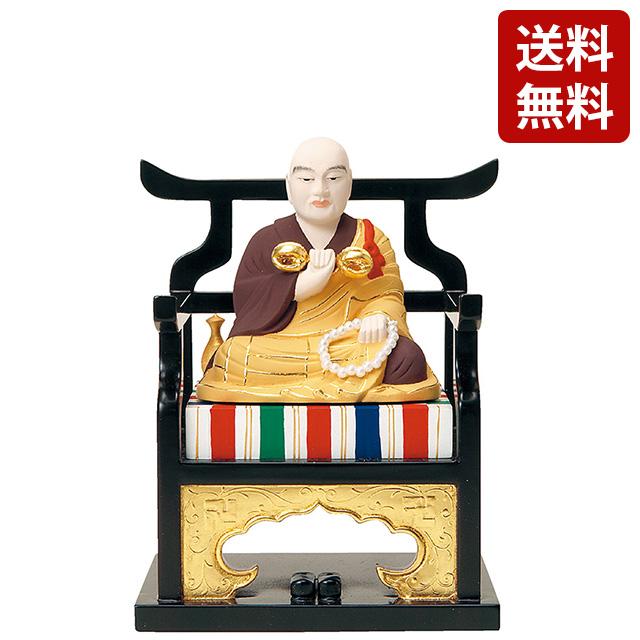 仏像 彩色 弘法大師 1.5寸~3.0寸