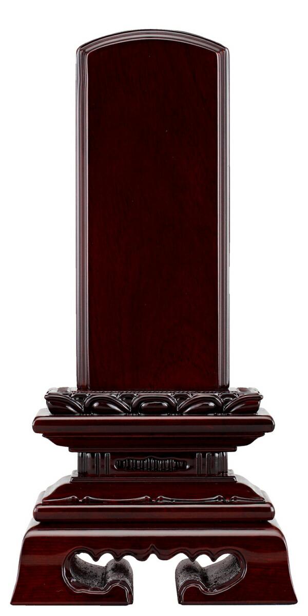 唐木位牌 黒檀 蓮付春日楼門 3.0寸~6.0寸