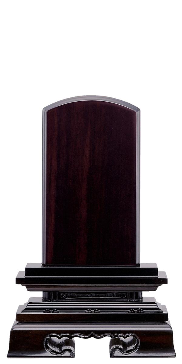 唐木位牌 紫檀 春日楼門 巾広 5.0寸~8.0寸