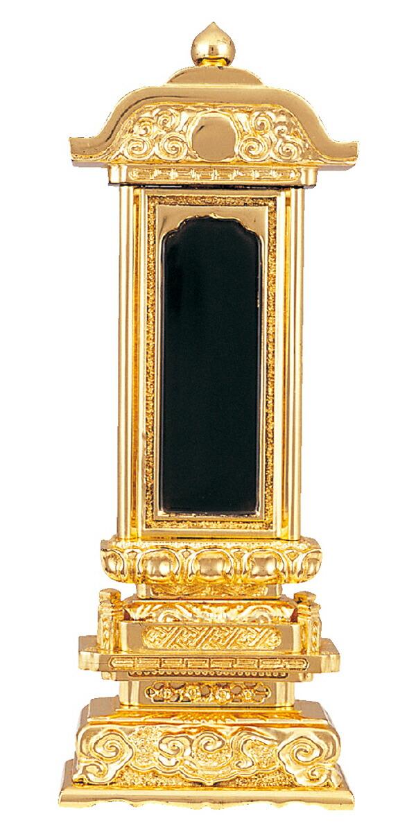 塗位牌 総金 柱付五重座 4.0寸~7.0寸