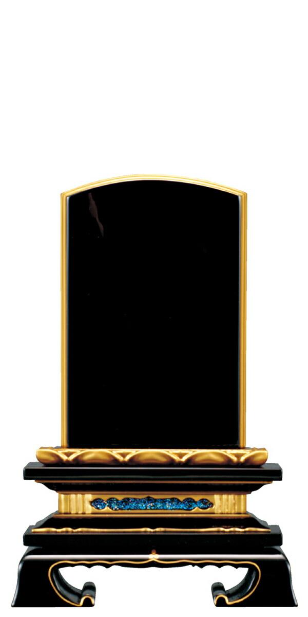 位牌 仏具 塗位牌 面粉 巾広 蓮付春日楼門 3.0寸~7.0寸 【 おしゃれ モダン位牌 文字 文字入れ 名入れ 文字彫り 戒名入れ 戒名 現代仏具 塗り位牌 モダン コンパクト ミニ】