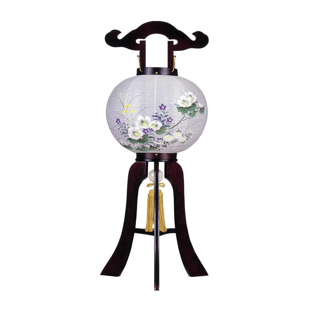 お買い物マラソンポイント10倍 盆提灯 姫あんどん 桜 高さ69cm × 幅28cm