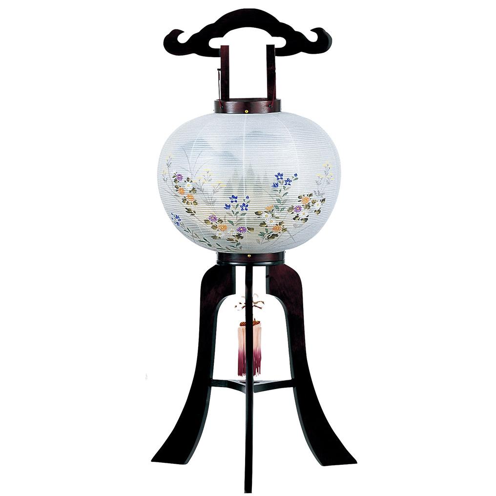 お買い物マラソンポイント10倍盆提灯 桜 高さ84cm × Φ34cm