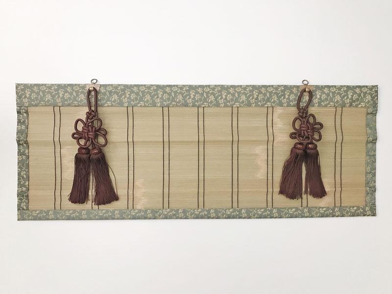 仏間用御簾(スダレ) 宗派問いません 巾80cm以下 垂40cm以下 仏間用 すだれ 仏具 みす 簾