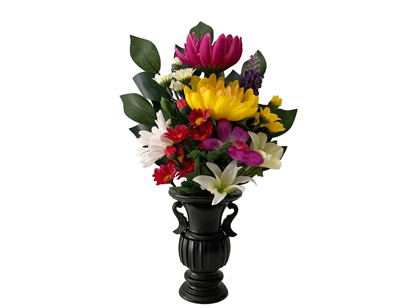 仏具 造花の仏花 大人気 特売 店長も愛用 本物そっくり 自信を持ってオススメ 仏花 造花 NEW 一般的に売られている生花と同サイズの仏花です