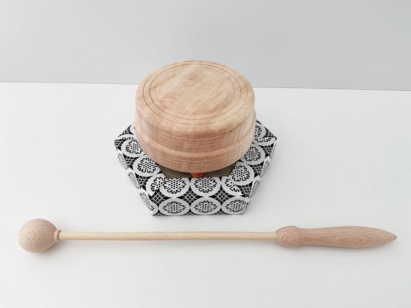 杢柾 4.0寸 バチ タタミ セット 日蓮宗 仏具 もくしょう 仏具セット