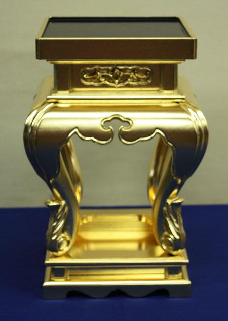 寺院用 仏具(真宗大谷派 東) 寺院仏具 中央卓 1尺3寸 対(香卓 中央香台)