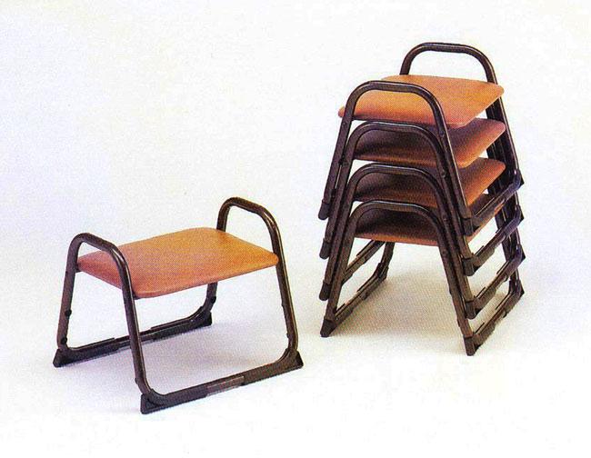 寺院用 仏具(その他) アルミチェアー 椅子 単色