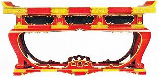 寺院用 仏具(各宗派)本能寺型前机 4尺 机