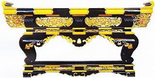 寺院用 仏具(各宗派) 須弥型特上前机 4尺 机