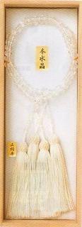 【浄土真宗用】 水晶切子 (仏具 珠数 数珠 念珠)品質本位の最高級品