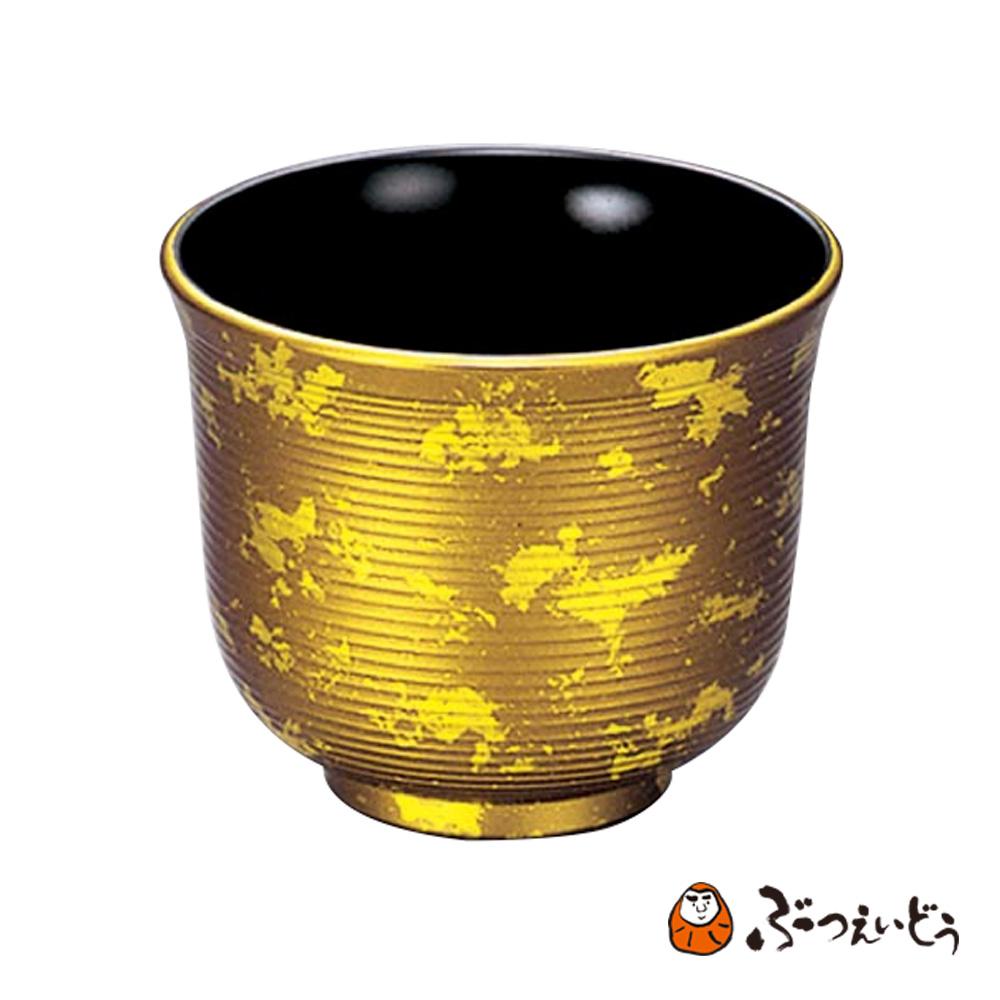 仏具・極上 湯呑兼仏器(雲錦箔) 仏具 仏器 陶器 仏器 茶湯器 湯呑