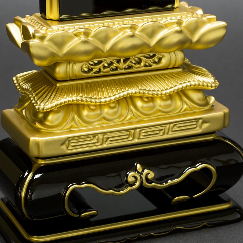 日本製の位牌・上等猫丸 浮面 上塗(5寸)【文字代込】【品質保証】