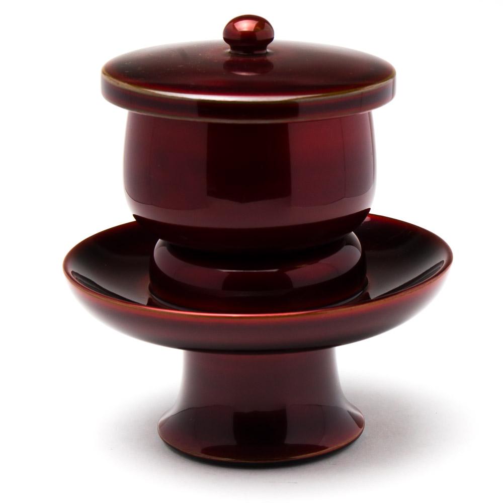 仏具・茶湯器(上玉虫/3.5寸) 湯呑