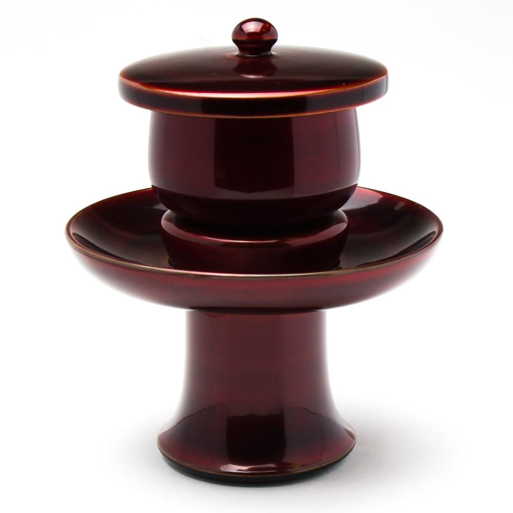仏具・茶湯器(上玉虫/4.0寸) 湯呑