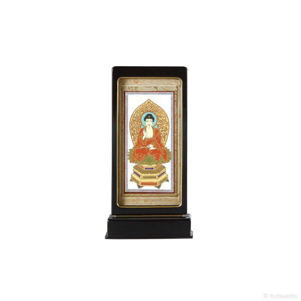 仏壇掛軸・スタンド掛軸 本尊 天台宗仕様 黒 (小)
