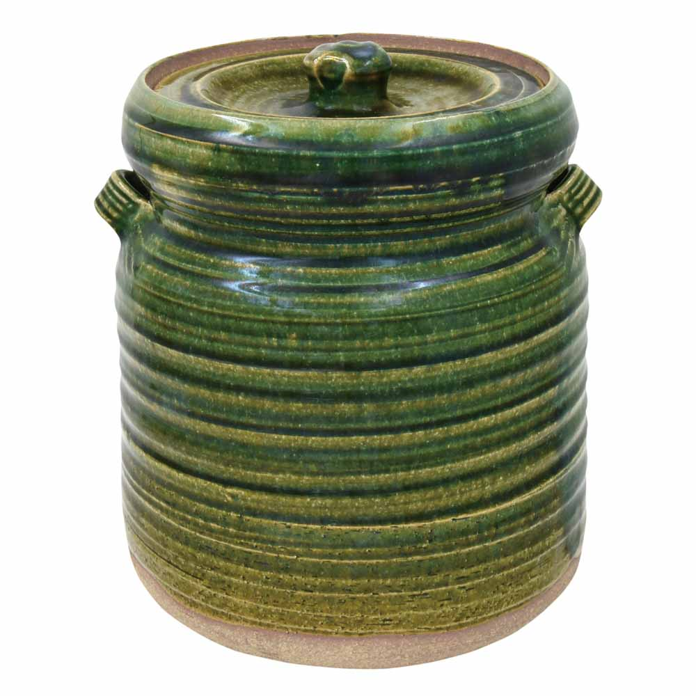 一級陶磁器技能士が手作りした骨壷 大人気 手元供養 今季も再入荷 瀬戸焼 2.3寸 織部