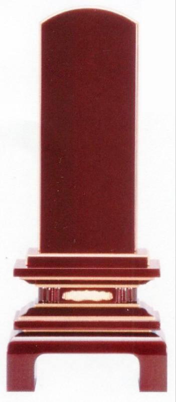位牌 [会津塗][ため色]京桜4.0号高級ため色位牌