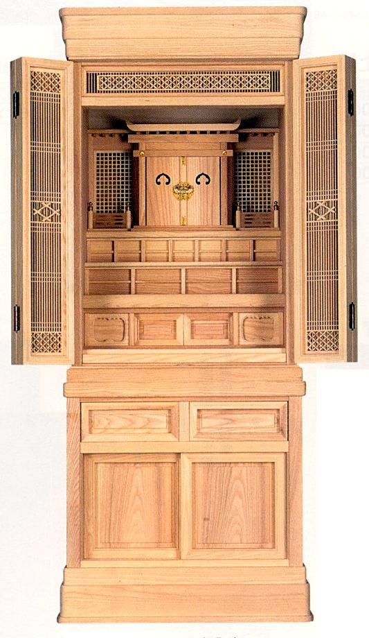神徒 の 御霊舎 引き出物 祭壇 祖霊舎 爆買いセール 少し大きめのサイズです 鎌倉」 台付 特選 祭壇宮 22号