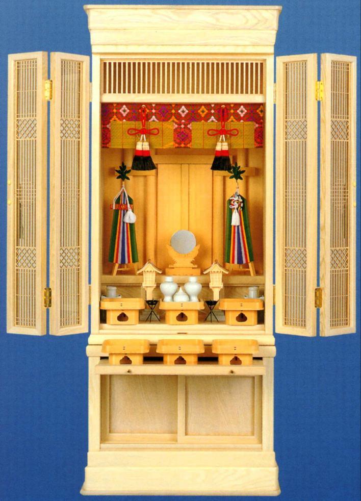 スリムな 床置 型の ハイクオリティ 御霊舎 特選 祖霊舎 20号 祭壇宮 京 新作通販