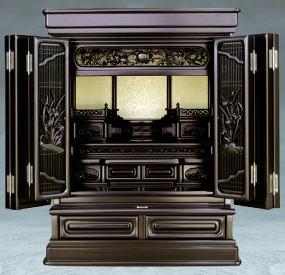 唐木調 上置仏壇 『たいせい2型』 25号