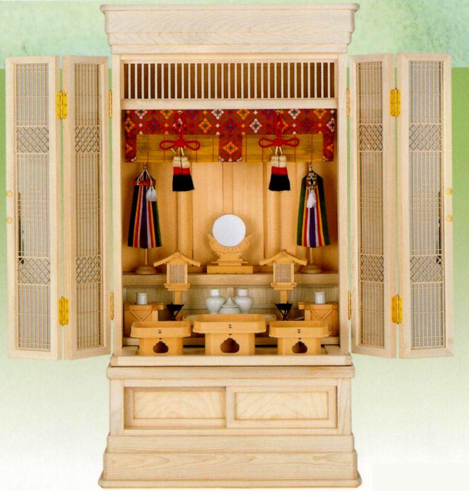 現金特価 小型でもシッカリした造りの 祭壇宮 御霊舎 としてお祀り下さい 小型 の 祖霊舎 特選 メイルオーダー 京 上置 型