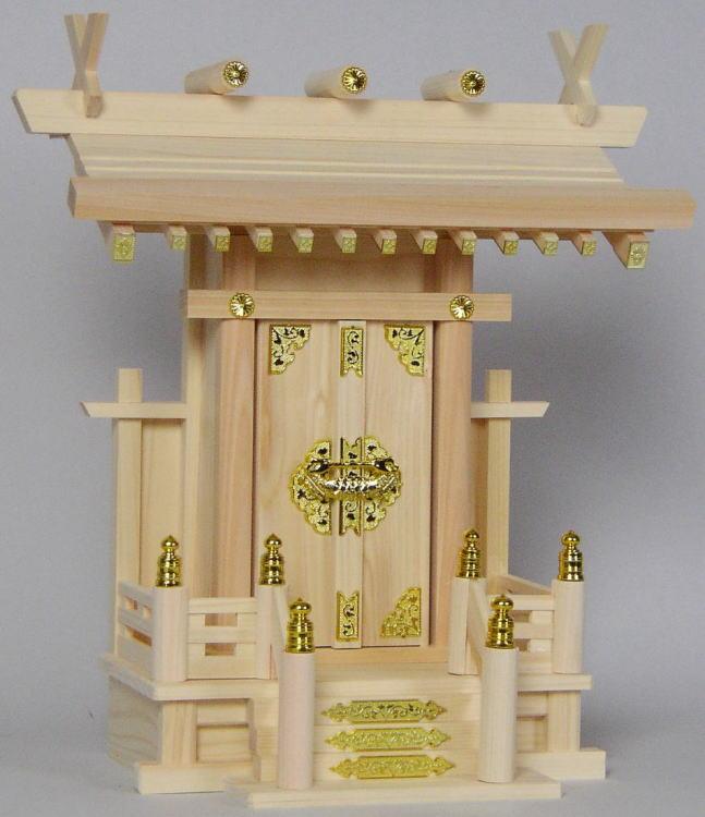 Butudan High Altar In Shinmei Eastern Dark Cypress