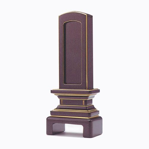 仏壇の種類を問わず合わせられます。 位牌 京型回出 5.0 高238×巾94×奥行47mm