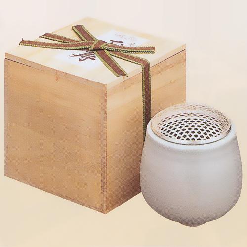 置香炉 香炉 香呂 丸型 全国どこでも送料無料 大特価 桐風紙箱入 玉寿