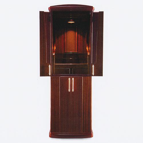 仏壇 モダン仏壇(床置) ブラーバ 16-48 外形寸法16-48 高145×巾50×奥行45cm