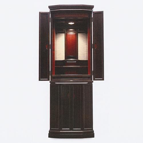 仏壇 モダン仏壇(床置) 道理II 16-48 外形寸法16-48 高145×巾51×奥行45cm
