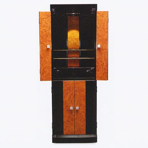 仏壇 モダン仏壇(床置) 夕貴 14-45 外形寸法14-45 高135×巾45×奥行41cm