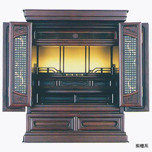 仏壇 上置型金仏壇 玄徳 20号 高610×巾495×奥行430×須弥壇上248mm