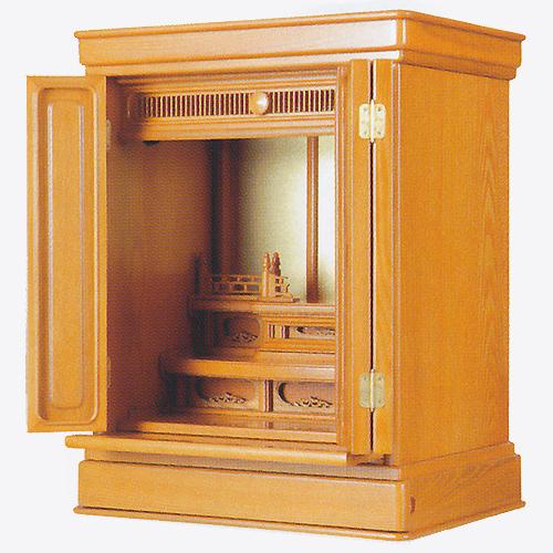 仏壇 上置型金仏壇 蕾 20号 高610×巾475×奥行345×須弥壇上273mm