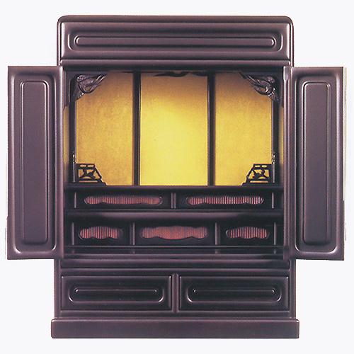 仏壇 上置型金仏壇 箱段 16号 高490×巾390×奥行275×須弥壇上214mm